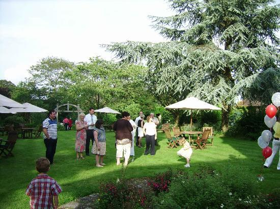 Celebrating my 40th birthday at Passford House in the grounds
