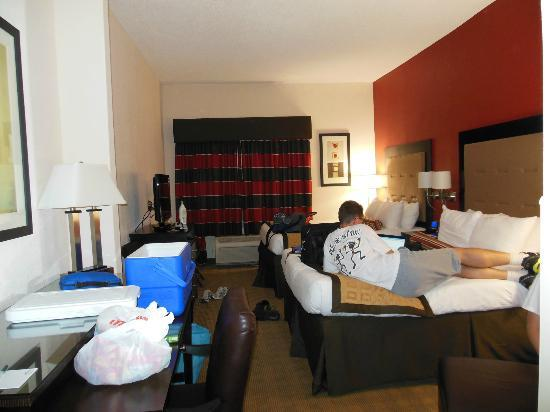 Wingate by Wyndham Macon : This was our nice clean room