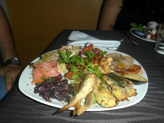 Mediterraneo Restaurant: antipasto mediterraneo (dello chef)
