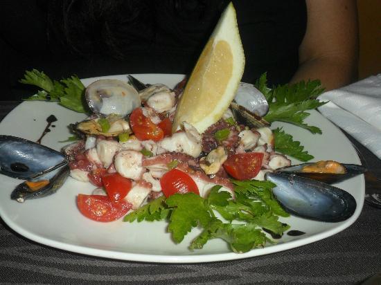 Mediterraneo Restaurant: antipasto di mare