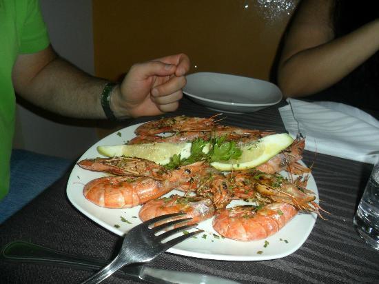 Mediterraneo Restaurant: grigliata di gamberoni