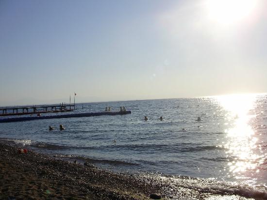 Beldibi, Turquía: Средиземное море в 8 часов утра
