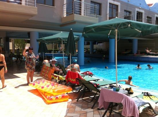 Porto Platanias Beach Resort & Spa: one of many pools