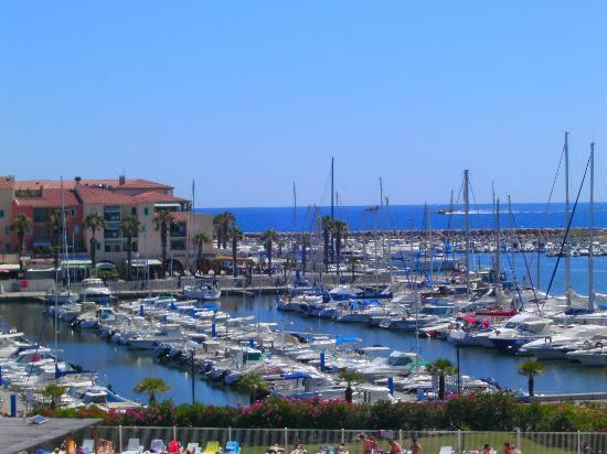 Vue De Lappartement Photo De Residence Mer Golf Port Argelès - Residence port argeles