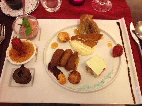 Les Banquettes Rouges : dessert