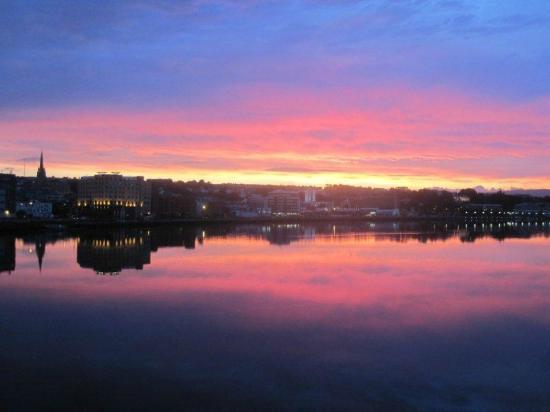 Maiden Heaven: Sunset in Derry