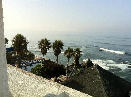 Las Rocas Resort & Spa: View from room is great (where is the beach?)