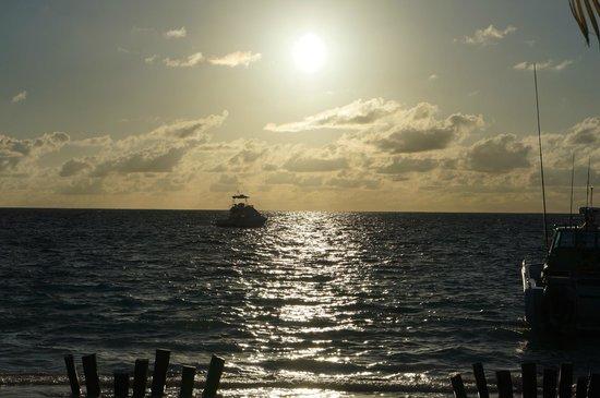 Desroches Island: Sunset