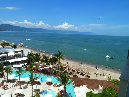 Now Amber Puerto Vallarta: Ocean view (preferred 6th flr)