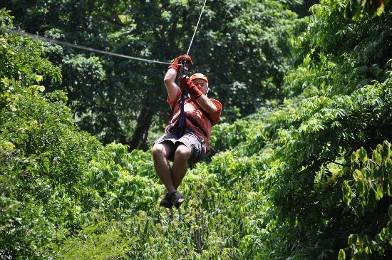 Witch's Rock Canopy Tour : My first ride...