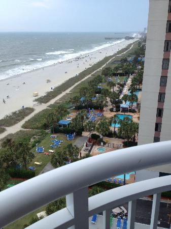 The Breakers Resort Balcony View Sailfish Tower Myrtle Beach