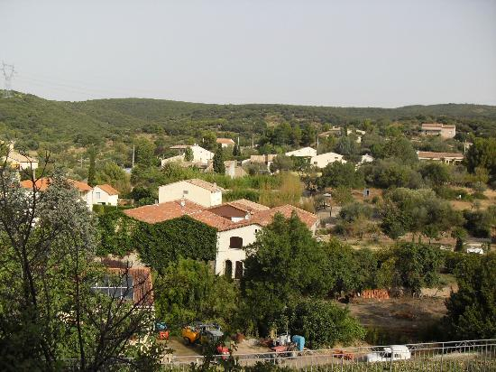 Maison Dix: View from top of village