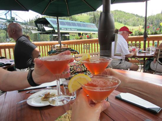 Royal Street Cafe : Cheers!  Speciality drinks are always fun on vacation.