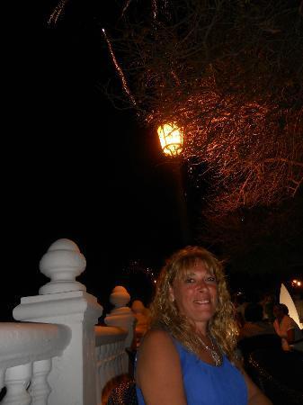 Villa Venecia Hotel Boutique: cena con fuegos artificiales