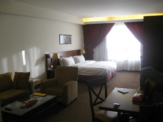 Markazia Suites : room from the entrance