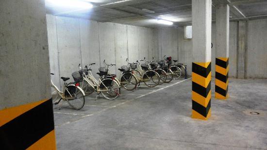 Villa Rosella Resort: le biciclette a disposizione