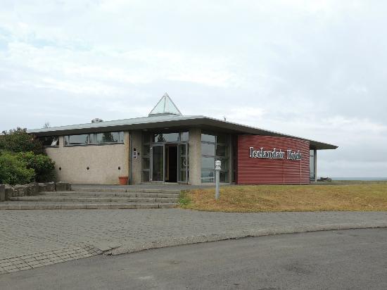 Icelandair Hotel Fludir: Fludir icelandair hotel situato sulla collinetta...