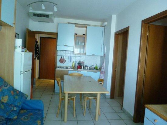 soggiorno - Foto di Brezza di Mare, Porto d\'Ascoli - TripAdvisor