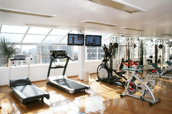 Amberes Suites: GYM