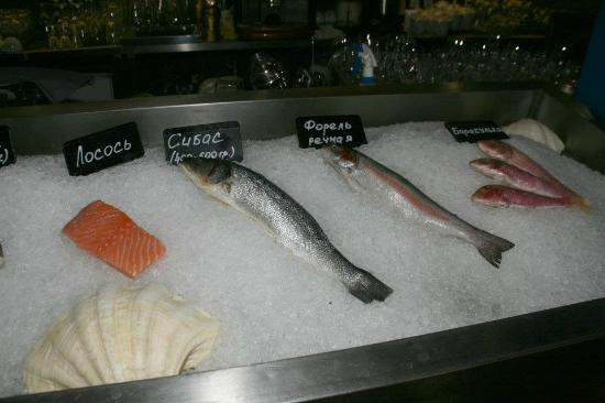Fish House: Only fresh ingredients