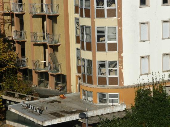 Hotel Terme Villa Piave: un albergo distrutto