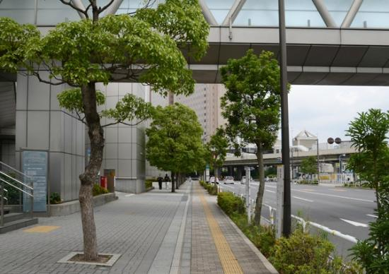 Dai-Ichi Tokyo Seafort: After B exit, turn left and this is the direction to the hotel