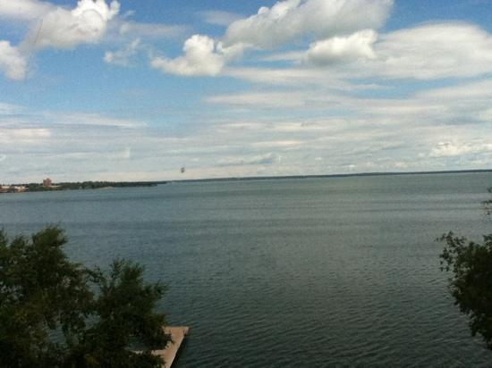 Hampton Inn & Suites Bemidji: view from fourth floor