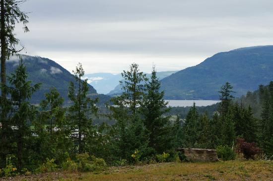 Owlhead Creek Bed &Breakfast: View of Shuswap Lake from room