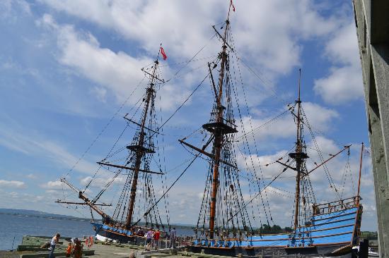 Hector Heritage Quay: Hector Ship