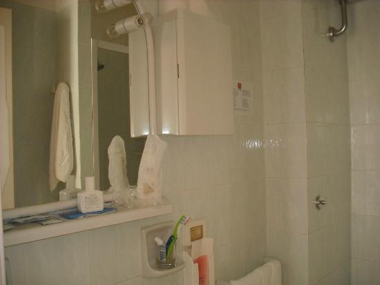 هوتل سكاكيابينسيري: baño de la habitacion