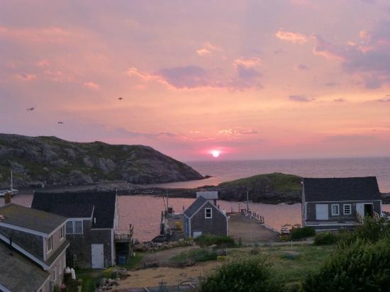 Monhegan Island: Sunset Monhegan