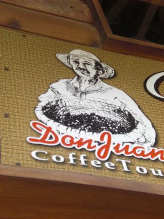 Don Juan Coffee Tour: The Don Juan masthead!