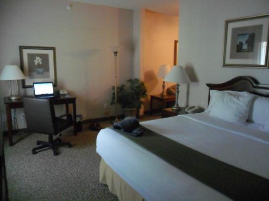 Holiday Inn Express Hotel & Suites Jasper : bedroom part of suite