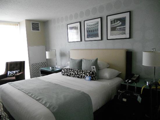 Hyatt Arlington: Very comfty & spacious room