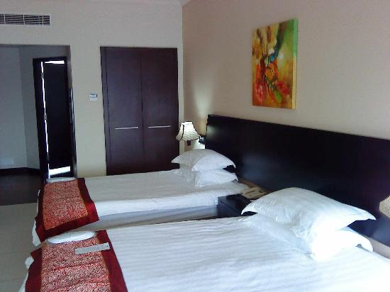 Portaluna Hotel&Resort: beds