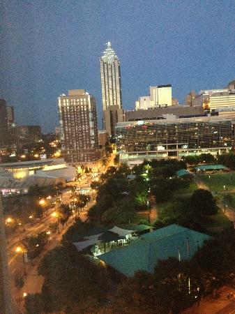 Hilton Garden Inn Atlanta Downtown: View from Penthouse floor