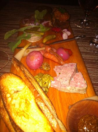 Outstanding Charcuterie... The Fennel Coppa was tremendous and would go back just for that!
