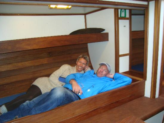 Sjosigling : Down Stairs - Under the Deck - Sleeping for 12