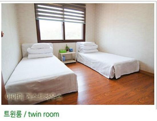 Ayami Guesthouse : 트원룸