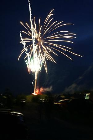 Rubber Ducky Resort and Campground: Fireworks at ducky fest