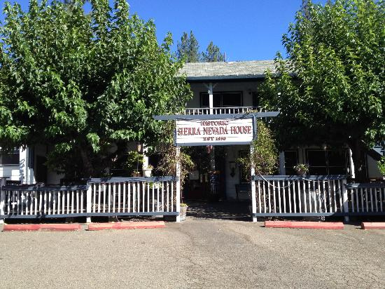 Outside Sierra Nevada House