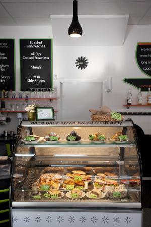 The Gelato Caffe: Fooddisplay