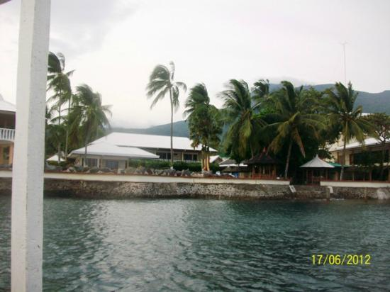 Paras Beach Resort: Hotel View from White Island Trip
