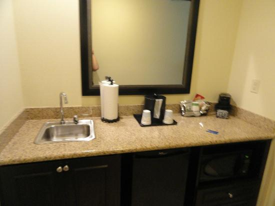 Hampton Inn Murrells Inlet/Myrtle Beach Area: As you enter the room.