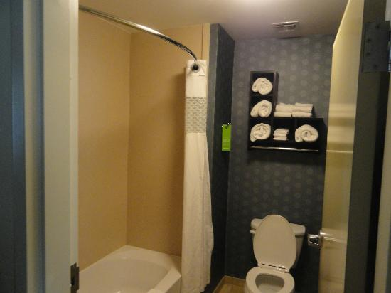 Hampton Inn Murrells Inlet/Myrtle Beach Area: Bathroom.