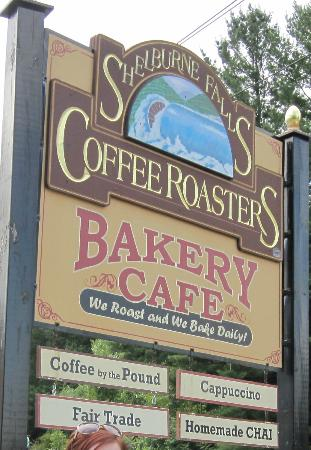 Shelburne Falls Coffee Roasters: Can't miss it