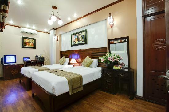 Aquarius Hanoi Hotel: Superior Twin Room