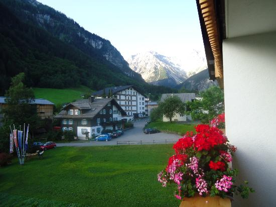 Hotel Garni Tannleger: View from balcony