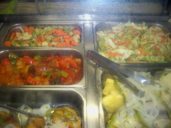 Singh's Fast Food Restaurant: picture of food offered at Singh's