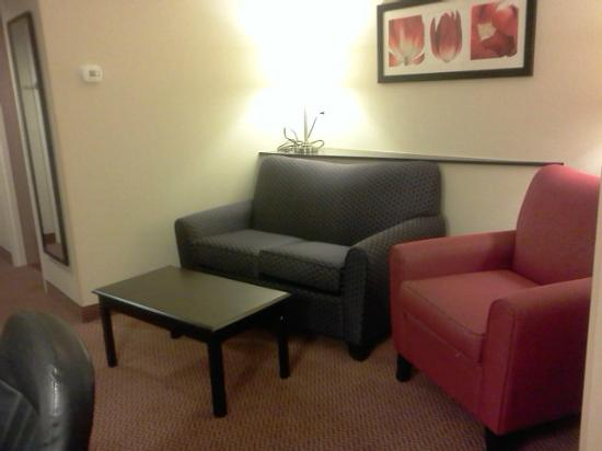 Comfort Suites Manchester: living area